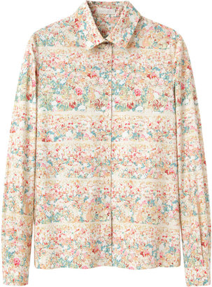 Cacharel Floral Printed Shirt