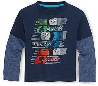 JCPenney Graphic Layered Tee - Boys 2y-5y