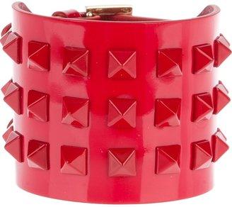 Valentino Garavani 'Rockstud' leather cuff