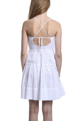 Elizabeth and James Liam Sundress in White