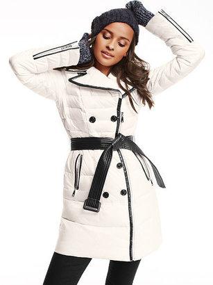 Victoria's Secret Trench Puffer Coat