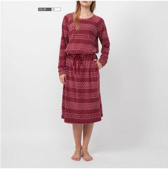 Uniqlo Women Micro Fleece Long Dress (Long Sleeve)