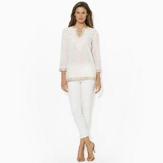Ralph Lauren V-Neck Cotton Tunic