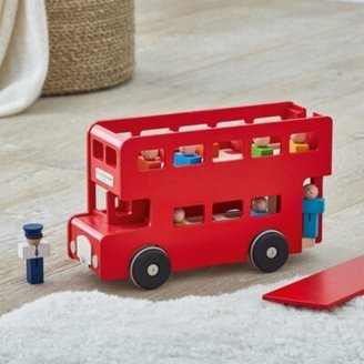 The White Company London Toy Bus, Red, One Size