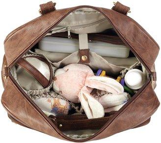 Timi & Leslie Rachel Convertible Diaper Bag - Caramel