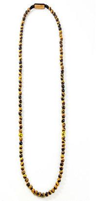 Domo Beads Premium Necklace | Tiger Eye