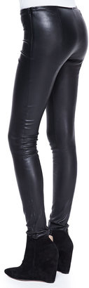 The Row Stretch-Leather Motorcycle Leggings