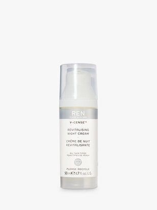 REN V-Cense Revitalising Night Cream, 50ml