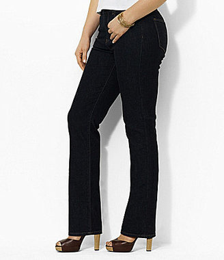 Lauren Ralph Lauren Plus Stretch Straight Jeans