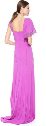 Nina Ricci One Shoulder Gown