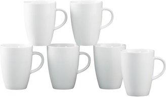 Crate & Barrel Set of 6 Small Coffee 8 oz. Mugs