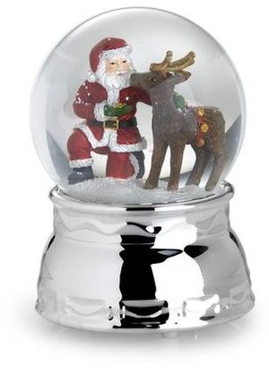 Towle Santa and Friend Musical Snow Globe