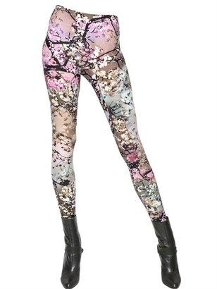 Mary Katrantzou Printed Modal Jersey Leggings