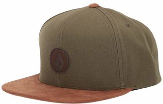 Volcom Quarter Fabric Panel Hat (Faded Army) Caps