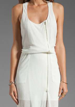Tracy Reese Cable Jersey Tank Dress