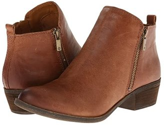 Lucky Brand Basel (Toffee) Women's Zip Boots