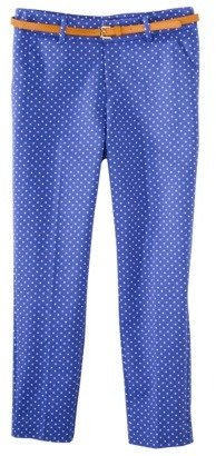 Merona Women's Tailored Ankle Pant w/Belt (Fit 2) - Amparo Blue