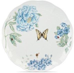 Lenox Dinnerware, Butterfly Meadow Blue Dinner Plate