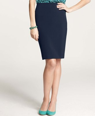 Ann Taylor Sleek Stretch Pencil Skirt