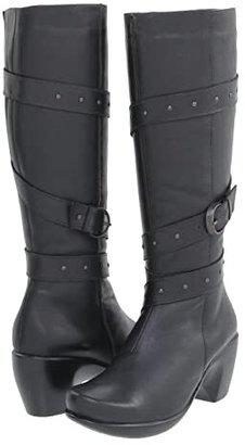 Naot Footwear Allure (Jet Black Leather) Women's Dress Zip Boots