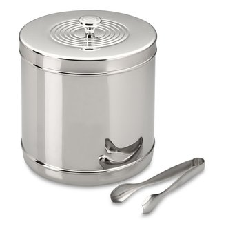 Williams-Sonoma Stainless-Steel Ice Bucket with Tongs