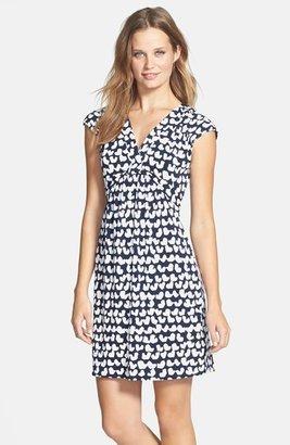 Laundry by Shelli Segal Print Jersey Sheath Dress (Regular & Petite)