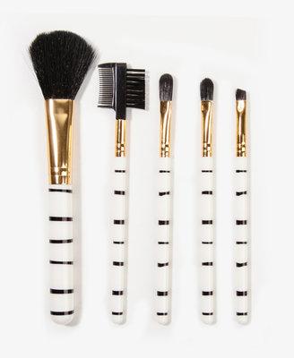 Forever 21 Striped Brush Set