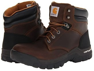 Carhartt 6 Rugged Flex Soft Toe Work Boot (Brown) Men's Work Boots