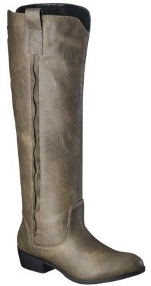 Merona Women's Rena Tall Boot - Taupe