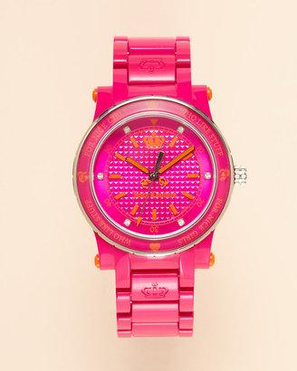 Juicy Couture Hrh Plastic Watch