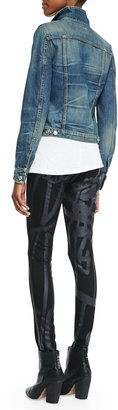 Rag and Bone g& boneJN Black Robot The Legging Jeans