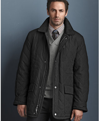 Johnston & Murphy Quilted Barn Jacket
