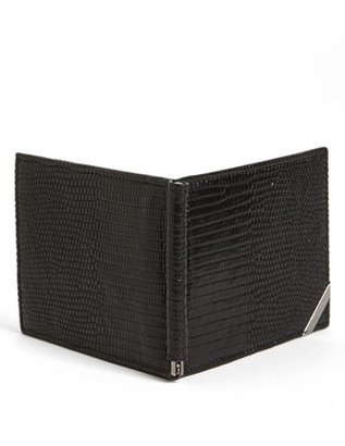 Salvatore Ferragamo 'Angolino' Lizardskin Wallet