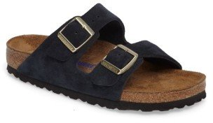 Women's Birkenstock 'Arizona' Soft Footbed Suede Sandal $134.95 thestylecure.com