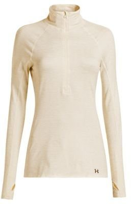 Under Armour ColdGear; Cozy Shimmer 1/4 Zip-Up