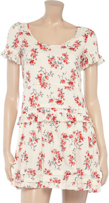 RED Valentino Printed cotton dress