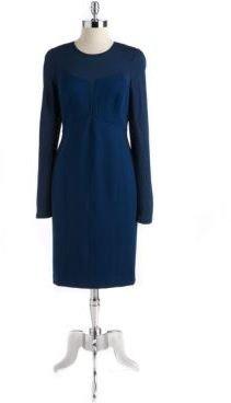 DKNY Ponte-Knit Sheath Dress
