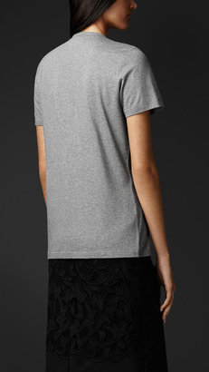 Burberry Gem Embroidered T-shirt