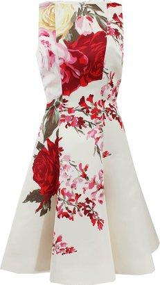 Blumarine Full Bottom Print Dress