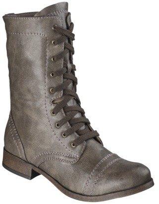 Mossimo Women's Khalea Trooper Boot - Stone