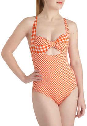 Betsey Johnson Backyard Dip One Piece