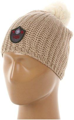 UGG Great Jones Pom Beanie (Camel Multi) - Hats