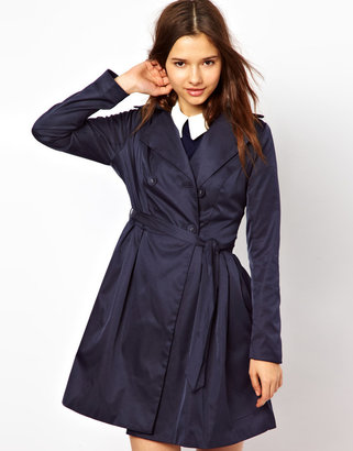 Darling Flared Trench