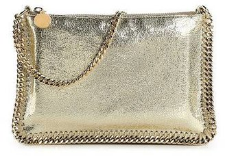 Stella McCartney Metallic Crackle Clutch