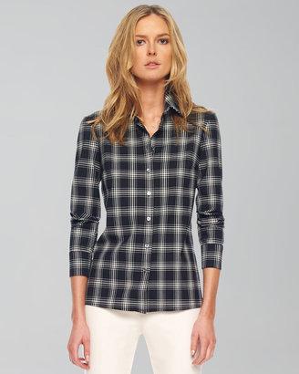 Michael Kors Taos Plaid Button-Front Shirt