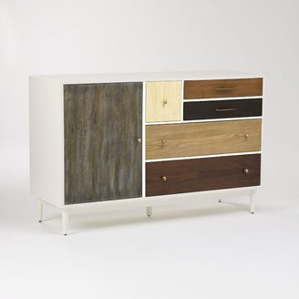 west elm Patchwork Media Console - Multi