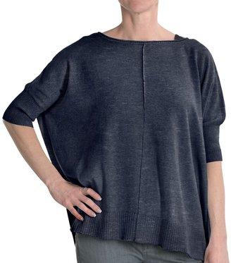 Cullen Cotton Blanket Sweater (For Women)