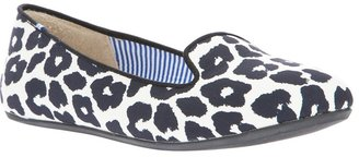 Charles Philip Shanghai jaguar-printed loafer