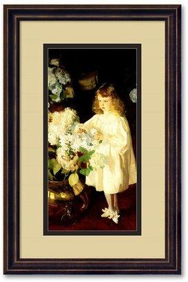 Sears ''Helen Sears, 1895'' Framed Wall Art by John Singer Sargent