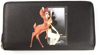 Givenchy bambi and female form print wallet